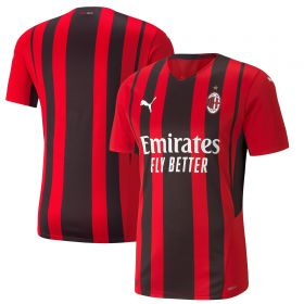 AC Milan Authentic Home Shirt 2021-22