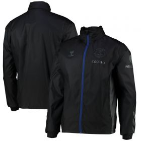 Everton Training Spray Jacket - Jet Black
