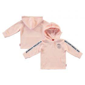 Paris Saint-Germain Core Crest Hoodie - Pink - Baby Girl