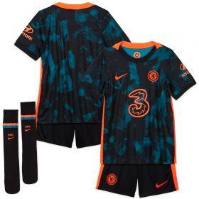 Chelsea Third Stadium Kit 2021-22 - Little Kids
