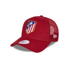 Atlético de Madrid New Era 9FORTY Wing Trucker - Scarlet Red - Adults