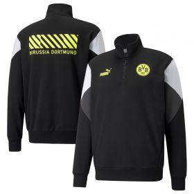 Borussia Dortmund FtblCulture Half Zip-Black