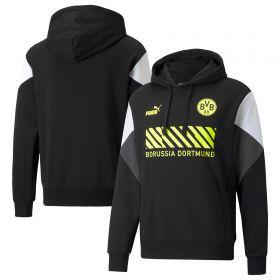 Borussia Dortmund FtblCulture Hoodie-Black