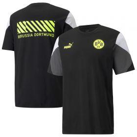 Borussia Dortmund FtblCulture T-Shirt-Black