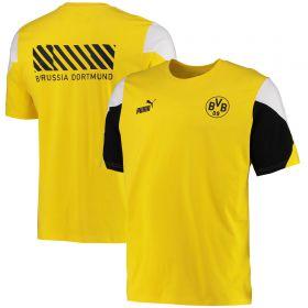 Borussia Dortmund FtblCulture T-Shirt-Yellow