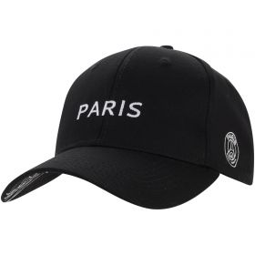 Paris Saint-Germain Core Big Logo Cap - Black - Men's