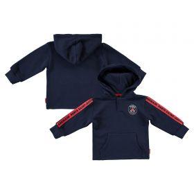 Paris Saint-Germain Core Crest Hoodie - Blue - Baby Boy
