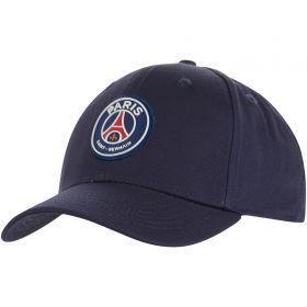 Paris Saint-Germain Essential Crest Cap - Blue - Kids