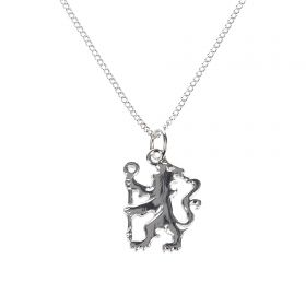 Chelsea Lion Pendant and Chain - Sterling Silver