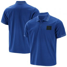 Everton Iconic Tipped Polo - Blue - Mens