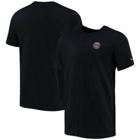 Paris Saint-Germain Travel T-Shirt - Black