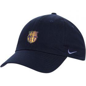 Barcelona H86 Cap With Crest - Dark Navy
