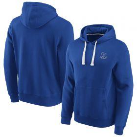 Everton Essentials Small Crest Overhead Hoodie - Royal - Mens