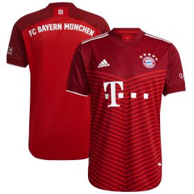 FC Bayern Home Authentic Shirt 2021-22