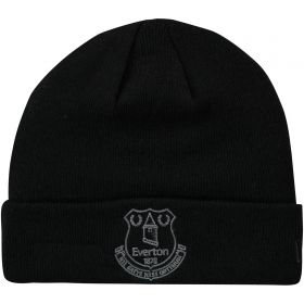 Everton New Era Core Crest Cuff Knit - Black - Adult