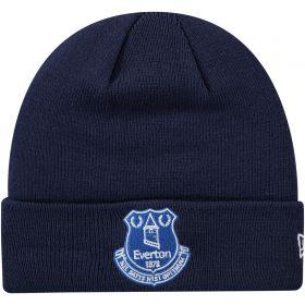 Everton New Era Core Cuff Beanie - Navy