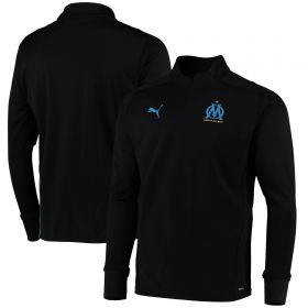 Olympique de Marseille Training Fleece-Black