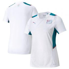 Manchester City Training Jersey-White-Womens