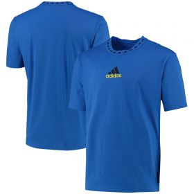 Manchester United Icons T-Shirt-Blue