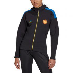 Manchester United ZNE Anthem Jacket-Black-Womens