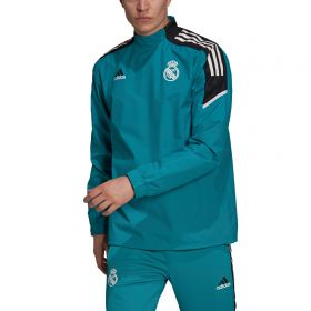 Real Madrid European Training Hybrid Top-Green