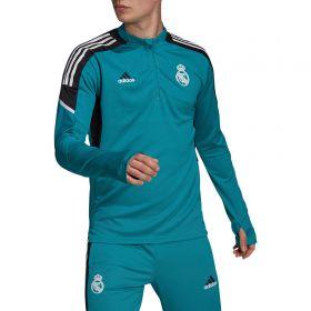 Real Madrid European Training Top-Green