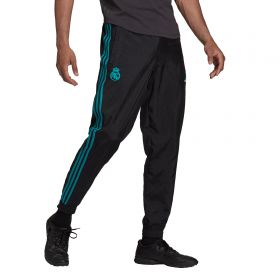 Real Madrid Icons Woven Pants-Black