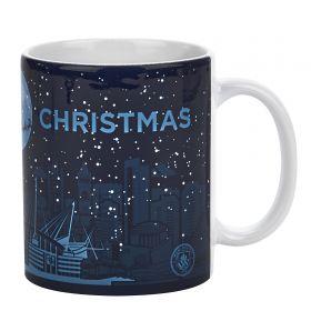 Manchester City Christmas Blue Moon Mug