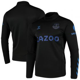 Everton Training Crew Sweat - Black