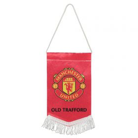 Manchester United Crest Pennant