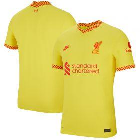 Liverpool Third Vapor Match Shirt 2021-22