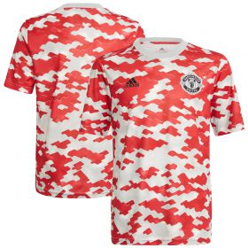 Manchester United Pre Match Shirt-Red-Kids