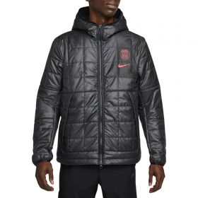 Paris Saint-Germain Fleece Lined Jacket - Black