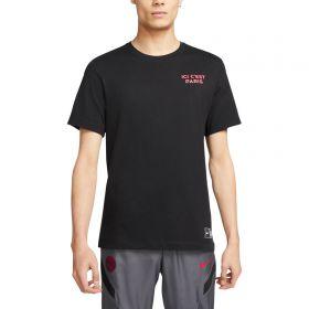Paris Saint-Germain Ignite T-Shirt - Black