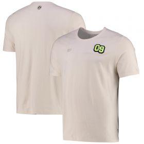 Borussia Dortmund FtblFeat T-Shirt-Off White