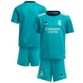 Real Madrid Third Minikit 2021-22