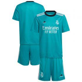Real Madrid Third Youth Kit 2021-22