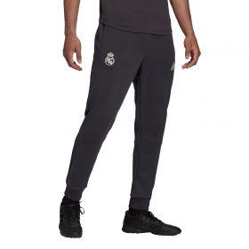 Real Madrid Travel Pants-Grey