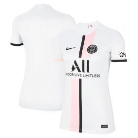 Paris Saint-Germain Away Stadium Shirt 2021-22 - Womens
