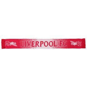 Liverpool 47 Brand Shader Scarf - Red/White - Adult