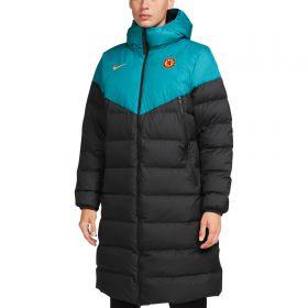 Chelsea Strike Puffer Jacket - Teal