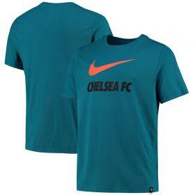 Chelsea Swoosh Club T-Shirt - Teal
