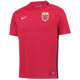 Norway Home Shirt 2016 - Kids with Ødegaard 11 printing