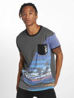 Just Rhyse / T-Shirt Palm Coast in blue