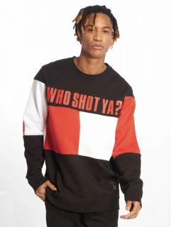 Who Shot Ya? / Jumper Block in black