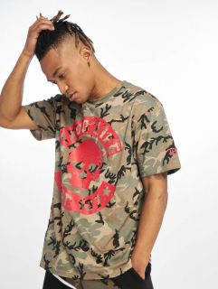 Thug Life / T-Shirt B.Distress in camouflage