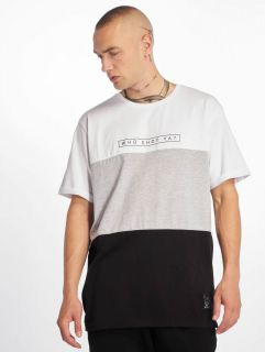 Who Shot Ya? / T-Shirt 3Tone in white