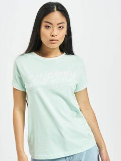 Just Rhyse / T-Shirt Santa Monica in turquoise