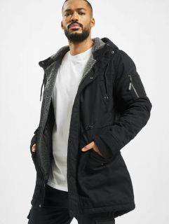Just Rhyse / Winter Jacket Columbus in black