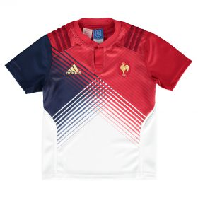 France Away Jersey -Kids - White